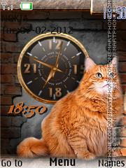 Ginger Cat theme screenshot