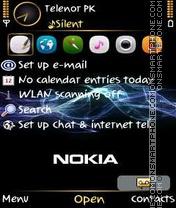 Shin Nokia theme screenshot