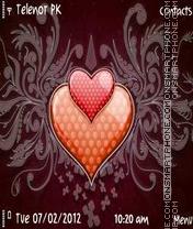 Heart E71 theme screenshot
