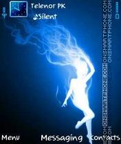 Скриншот темы Blue Fairy