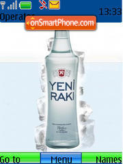 Yeni Raki theme screenshot