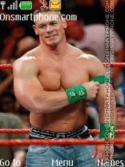 John Cena 21 theme screenshot