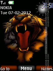 Скриншот темы Tiger 51