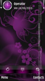 Purple Dream theme screenshot
