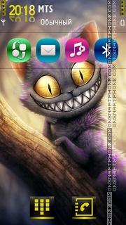 Funny Cat 06 theme screenshot