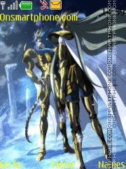 Saint Seiya Degel N Kardia theme screenshot