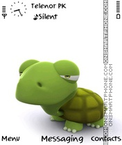 Green Turtle Theme-Screenshot