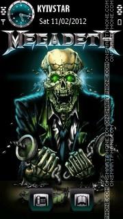 Megadeth es el tema de pantalla