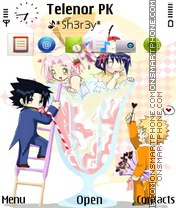 Narutos theme screenshot
