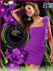 Girl In Purple Dress es el tema de pantalla