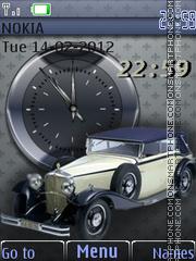 Скриншот темы Retro Car