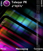 Colorful theme screenshot