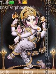 Dancing Ganesha theme screenshot
