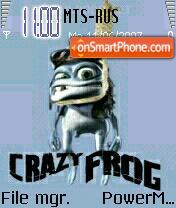 Crazy Frog es el tema de pantalla