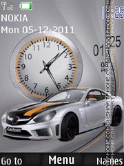 Скриншот темы Car Dual Clock
