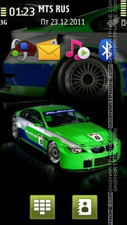 Bmw Tuned 01 theme screenshot