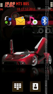 Scuderia Bizzarrini P538 theme screenshot