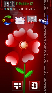 Valentine 2012 5th theme screenshot