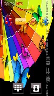 Capture d'écran Butterfly 30 thème