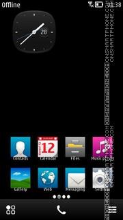 Скриншот темы Shadow 02