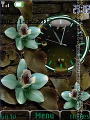 Capture d'écran Flowers thème