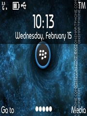 Blackberry theme screenshot