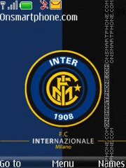 Fc Internazionale 01 theme screenshot