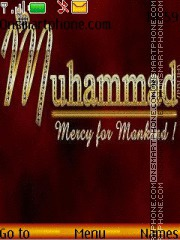 Muhammad Beloved Prophet theme screenshot