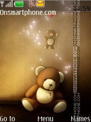 Cute Teddy 06 theme screenshot