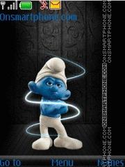 Angry Smurf 01 es el tema de pantalla