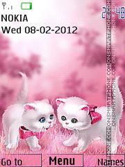 Cute Cats 03 theme screenshot