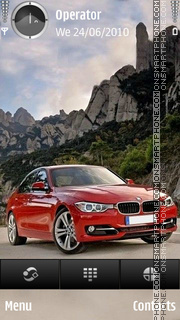 Bmw Red tema screenshot