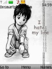 Скриншот темы Hate Life