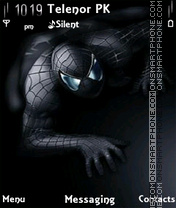 Black Spider theme screenshot
