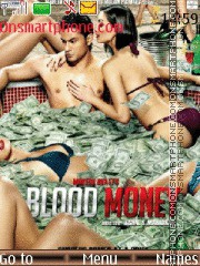 Blood Money theme screenshot