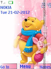 Winnie Pooh 105 tema screenshot