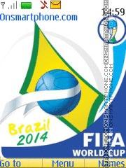 Brazil 2014 with Tone theme screenshot
