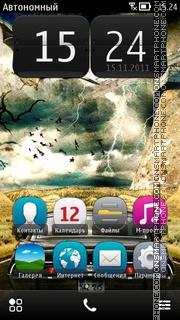 Скриншот темы Magic Road