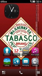 Tabasco theme screenshot