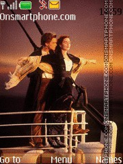 Titanic With Tone theme screenshot