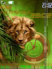 Lion Hunting theme screenshot