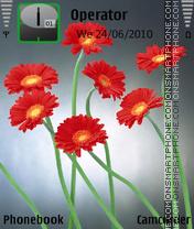 Flower by amjad es el tema de pantalla