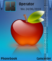 Redapple by amjad theme screenshot