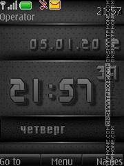 Black Digital theme screenshot