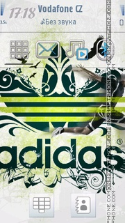 Adidas Colour Full theme screenshot