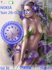 Spring Girl theme screenshot