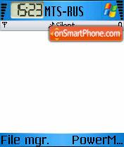 New Win Mobile theme screenshot