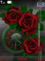 Скриншот темы Red Rose