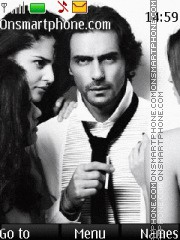 Arjun Rampal theme screenshot