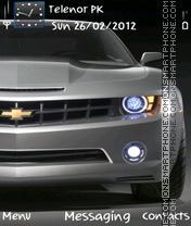 Chevrolet es el tema de pantalla